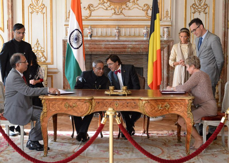 Photo #1 - India - Education - belgium_pranab_universities